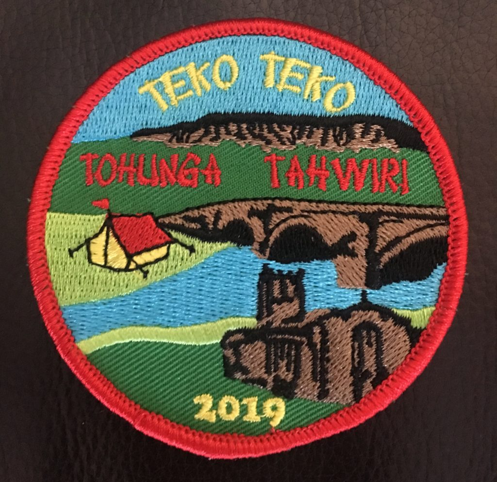 Tohunga, Teko and Tahwiri badge